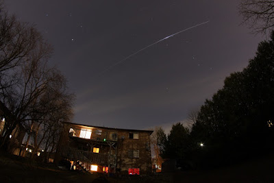ISS flying over Ontario