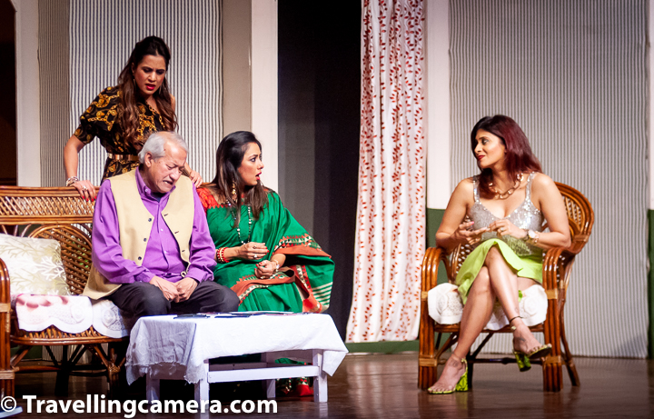 "Another aspect that the script handled with nuance (and really, one expects nothing less from Mr Bedi) was balancing out heavy moments with comic relief. His own character, the shayar ""Akela"", is the comic backbone of this play. And he brings it to life with perfection."