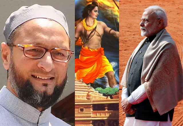 politics,national, Political Reaction on Ram Mandir Trust construction, Ram Mandir Trust construction,  Shiv Sena on Ram Mandir Trust construction,  Owaisi on  Ram Mandir Trust construction