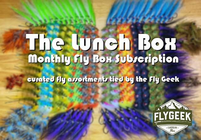 FLY GEEK CUSTOM FLIES - The Lunch Box Subscription