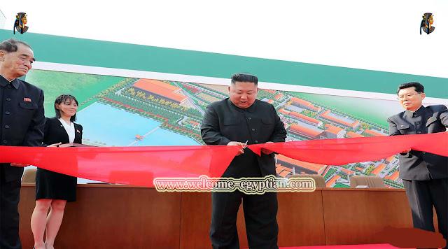 عاجل . زعيم كوريا الشمالية كيم اون