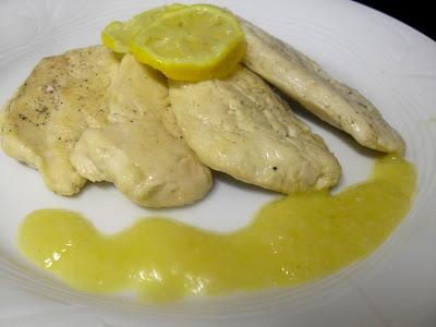 Pechugas de pollo al limón de Tobias Cook.