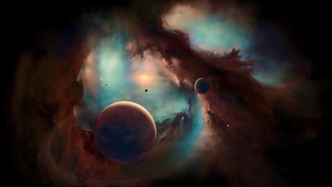 Papel de Parede Nebulosa no Espaço HD