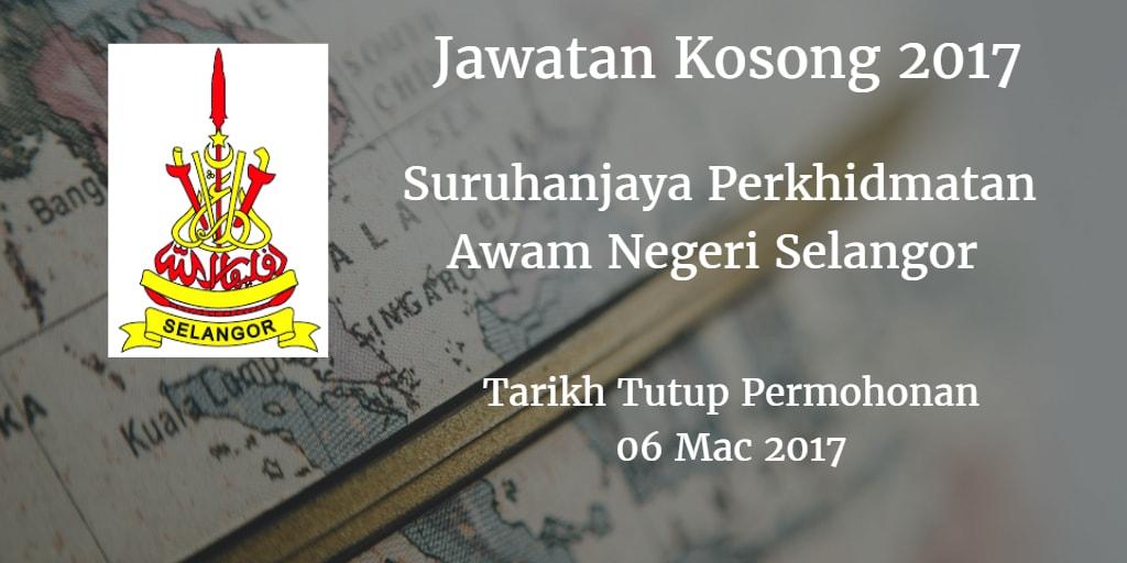 Jawatan Kosong SPN Selangor 06 Mac 2017