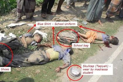 Kebenaran Alqur'an Tentang Kejahatan Tak Bernalar Kaum Musyrik Budha Myanmar!