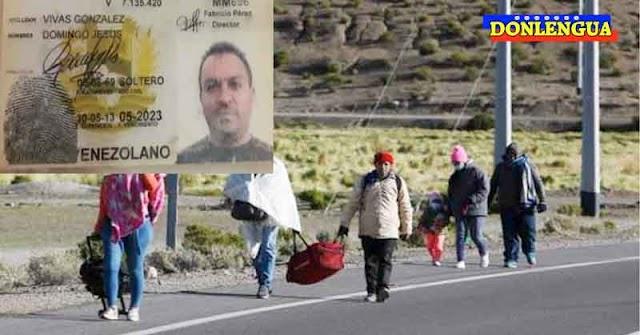 Refugiado venezolano murió intentando entrar a Chile a pie por la frontera norte