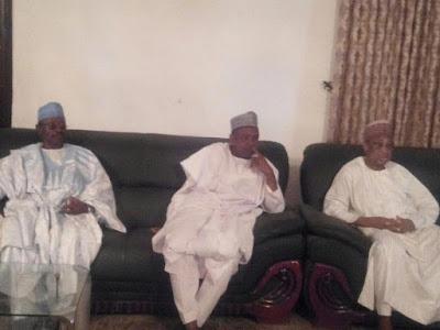 Abubakar Atiku Bagudu and friends