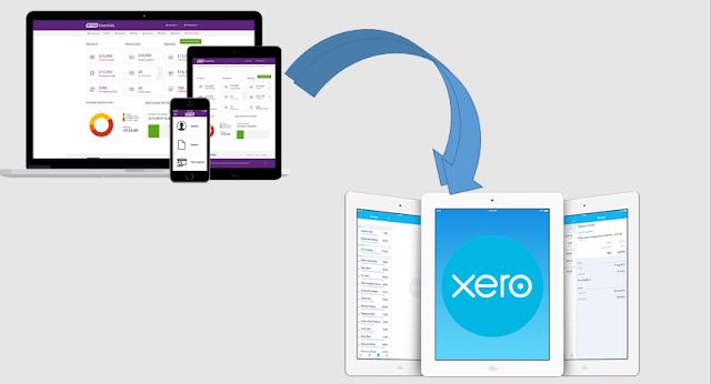 Myob to Xero Conversion