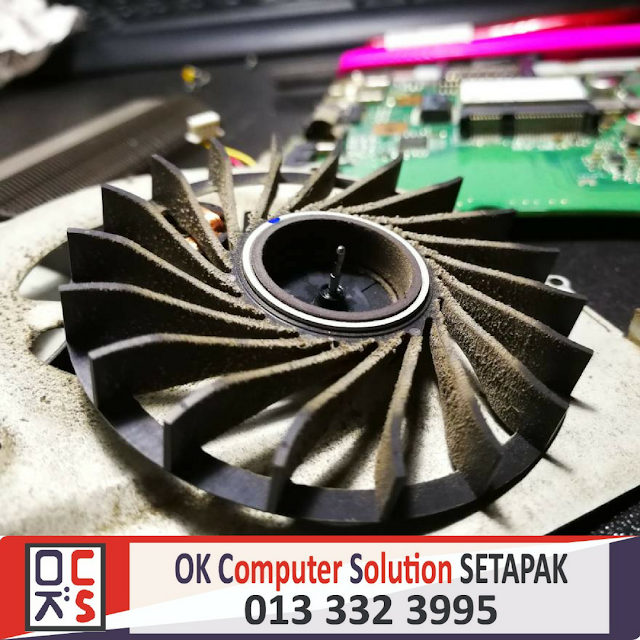 [SOLVED] LAPTOP ASUS A55V OVERHEATING | REPAIR LAPTOP GOMBAK