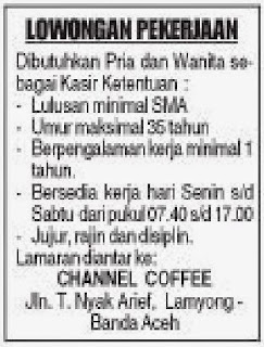 CHANNEL COFFEE