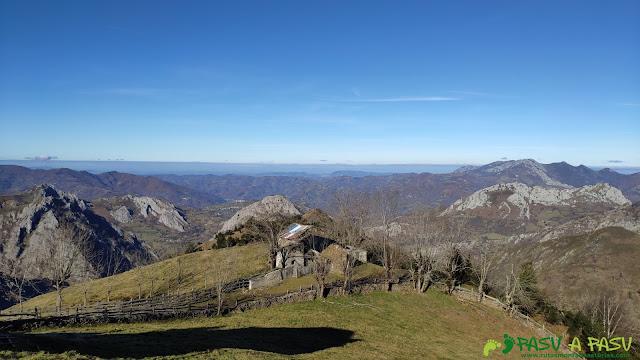 Vista de los Collaos, Laviana