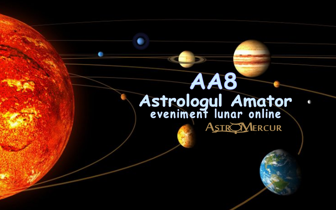 AA8 - Astrologul Amator, eveniment lunar online