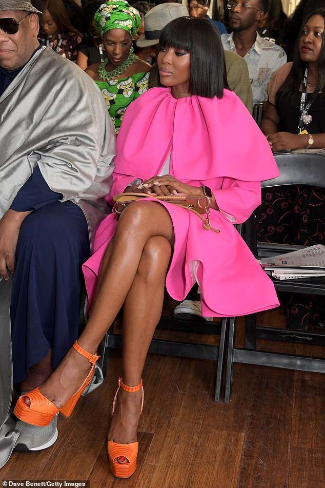 Naomi Campbell rocks three stylish outfits for Fashion Week in Nigeria