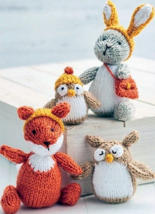 Woodland Toys - Free Knitting Patterns