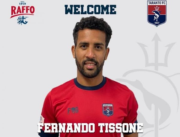 Oficial: Taranto FC, firma Fernando Tissone