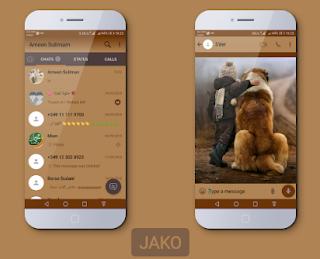 Cute Theme For YOWhatsApp & Fouad WhatsApp By Jako