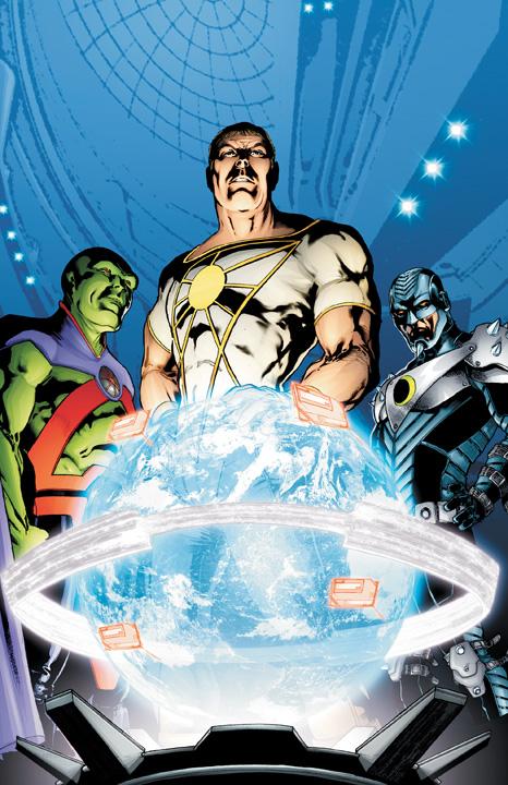 Relanzamiento DC: Wildstorm verso, Blue Beetle, Suicide Squad.