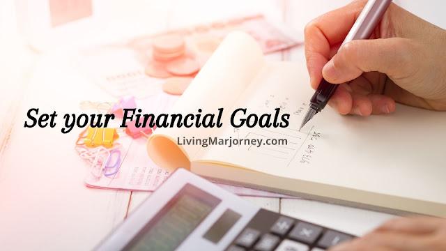 Set your financial goals