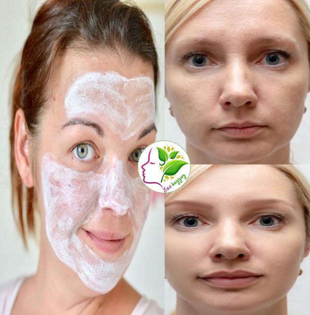 Masque au lait pour rajeunir le visage et avoir une peau sans rides et lisse