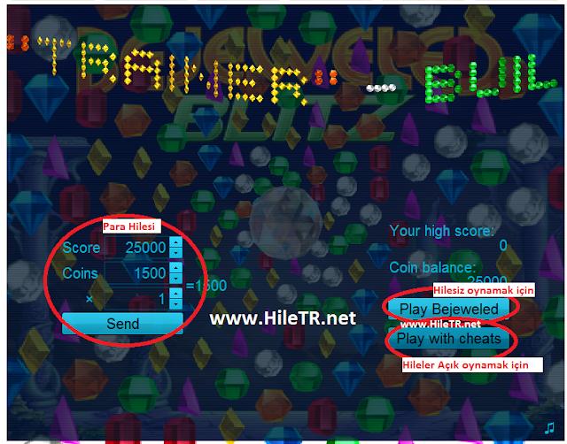 Bejeweled Blitz Hile Programı - HileTR