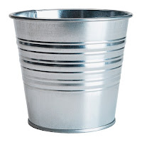 Metal pot from IKEA