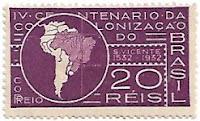 Selo IV Centenário da Colonização do Brasil