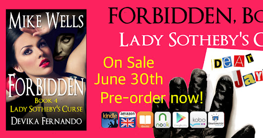 Forbidden, Book 4 - Lady Eleanor's Curse - Now Available for Pre-order