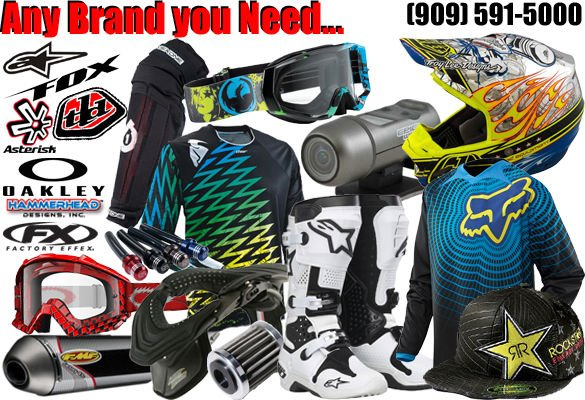 Motocross Gear and Accessories