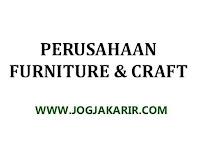 Lowongan Kerja Bantul Staf Admin di Perusahaan Furniture dan Craft