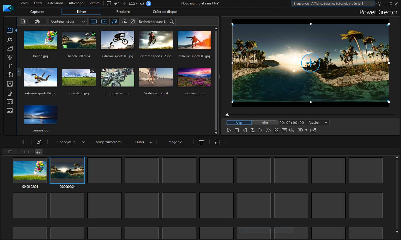 تحميل أفضل برنامج لإنتاج الفيديو متطورًا وسهل الاستخدام CyberLink PowerDirector Ultimate 17.6.3125.0
