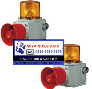 Jual Siren Qlight SHD Series 220V Plus Kap Besi di Jakarta