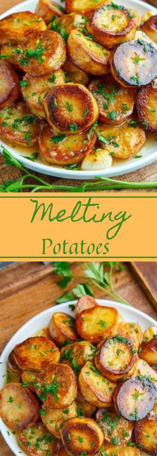Melting Potatoes #potatoes #vegetables #vegetarian #dinner