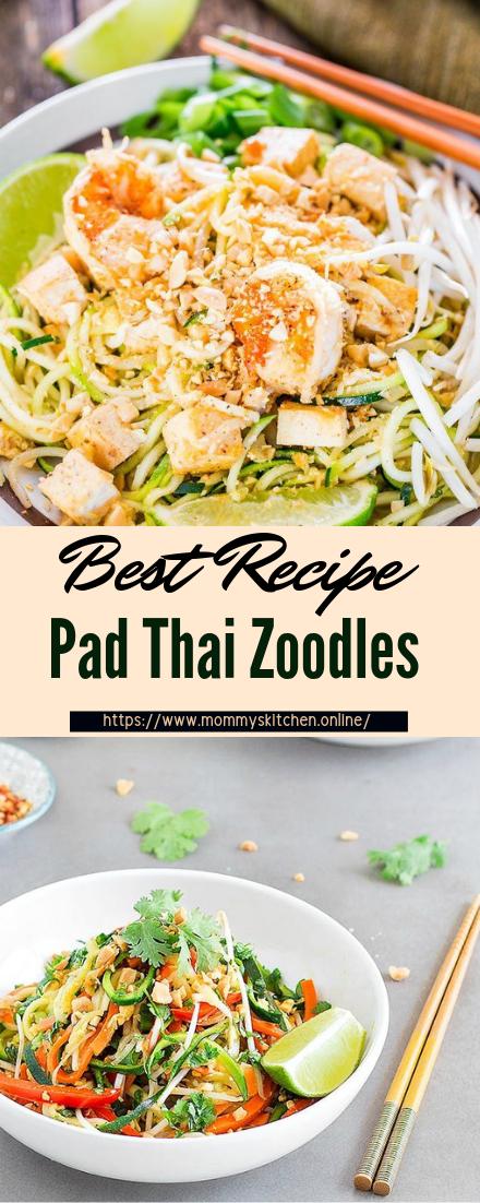 Pad Thai Zoodles #dinnerrecipe #food #amazingrecipe #easyrecipe