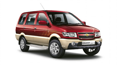 Chevrolet-Tavera Car Hire Delhi