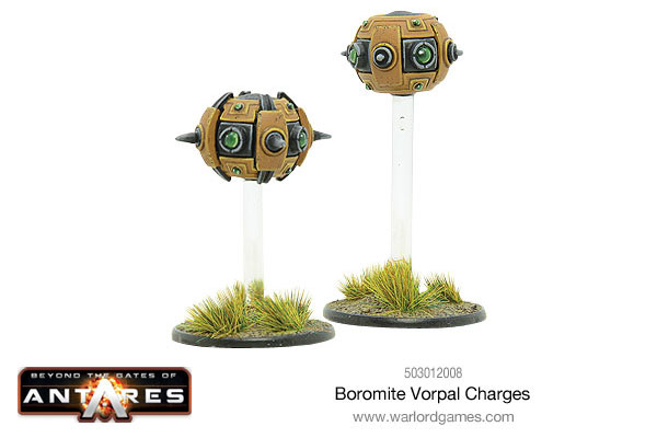 Warlord Games - Boromite Vorpal Charges - Science Fiction Mines