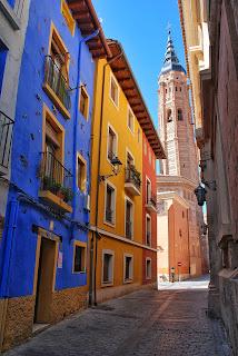 Vista de la torre desde la calle Baltasar Gracián
