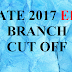 GATE Result 2017 and EEE* Branch Cut Off Marks | GATE Result