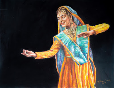 Kathak Dancer, India