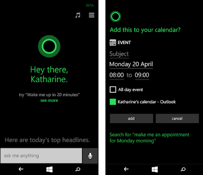 Microsoft Windows 10 Mobile update brings new features in Cortana and Edge