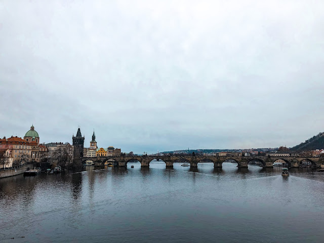 3 days in Prague at Christmas: charles bridge