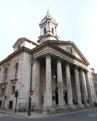 St George's Hanover Square - the most  fashionable church in Regency London