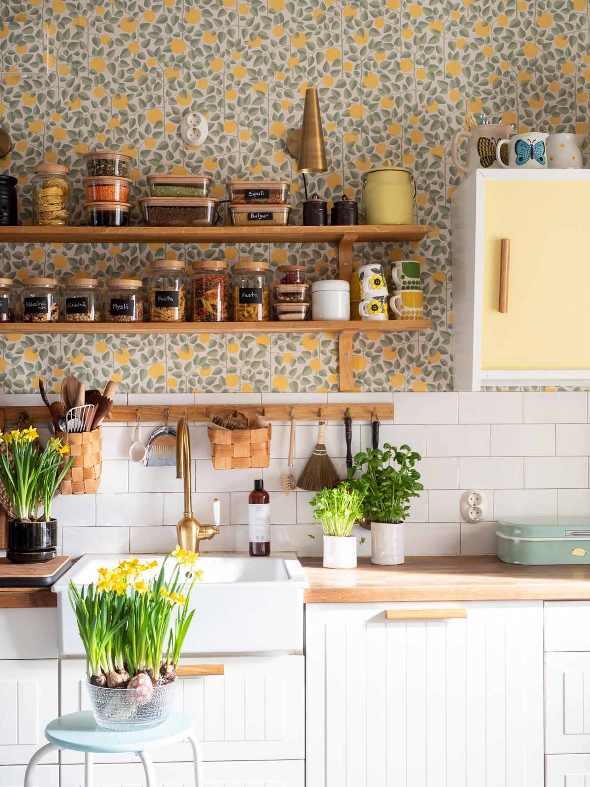 keittiön avohyllyt