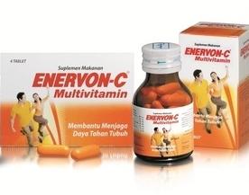 Multivitamin Enervon-C, Membantu Menjaga Daya Tahan Tubuh
