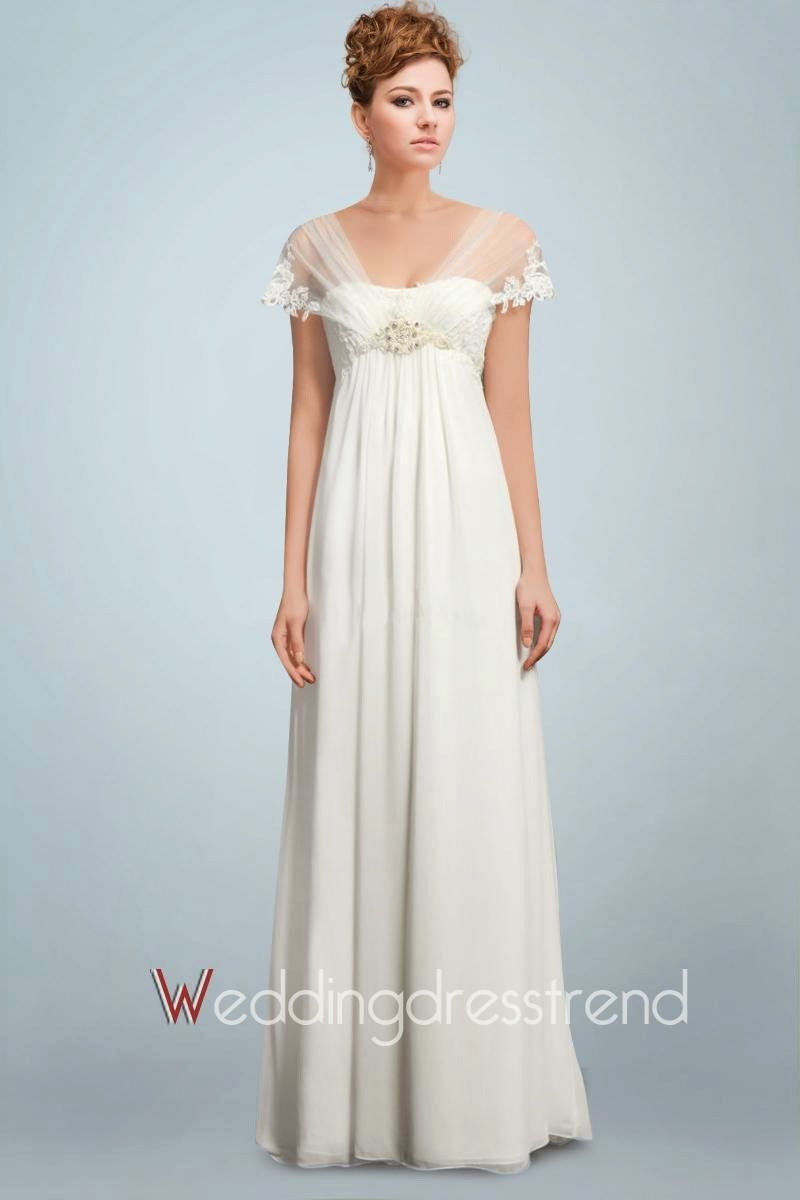 Lindos Vestidos de novia para embarazadas | Tendencias | 101 ...