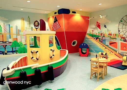 7 Inspiring Kid Room Color Options For Your Little Ones: (cool) Design: Playroom Inspiration