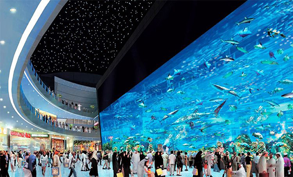 gambar Dubai Mall Wisata Populer