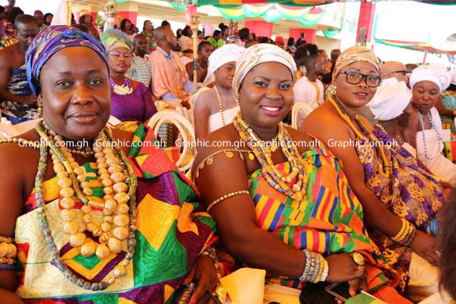 Photos: Kente at Ghana@60 independence parade