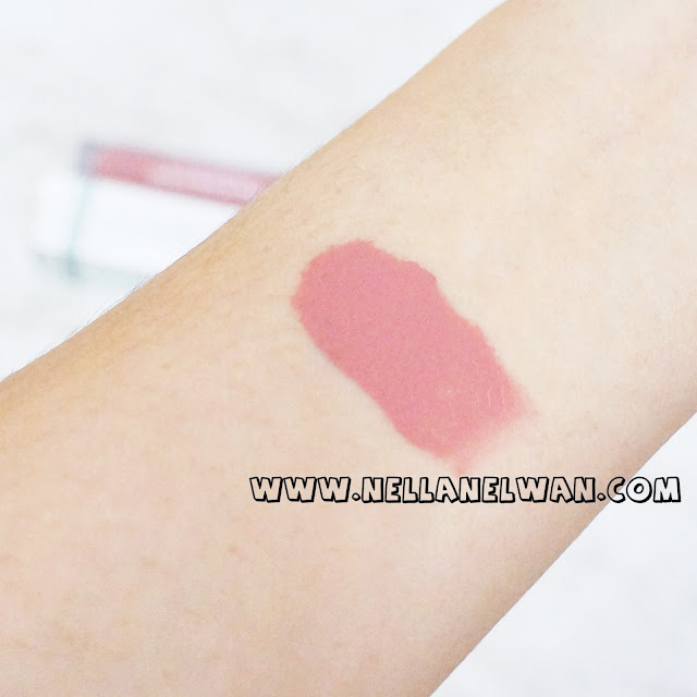 wardah exclusive matte lip cream swatch indonesia
