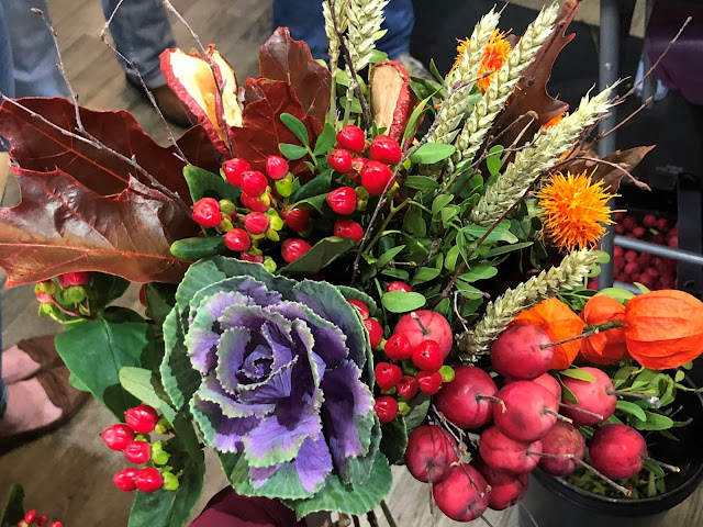 autumn bouquet I arranged in Newcastle at Katherine's Florist