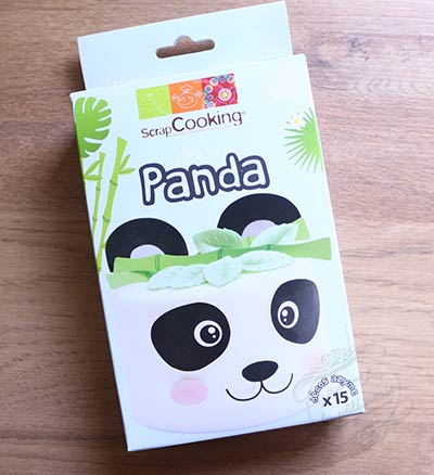 kit gateau panda